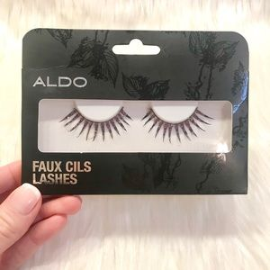 ALDO Glam Effect Glitter Lashes!